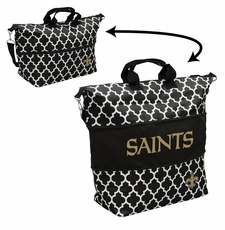 New Orleans Saints  - Expandable Tote (patterned)