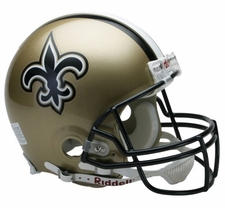 New Orleans Saints Riddell Full Size Authentic Helmet