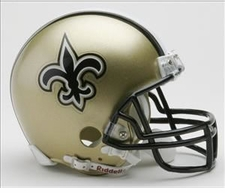 New Orleans Saints Riddell Replica Mini Helmet