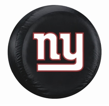 New York Giants Black Standard Spare Tire Cover