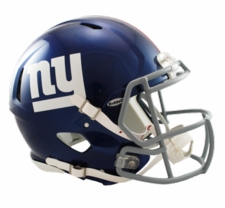 New York Giants Revolution Speed Riddell Authentic Helmet