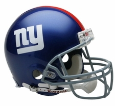 New York Giants Riddell Full Size Authentic Helmet