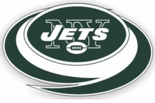 New York Jets 12 x 12 Die-Cut Window Film Decal