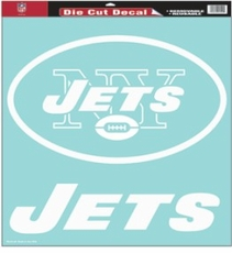 New York Jets 18 x 18 Die-Cut Decal