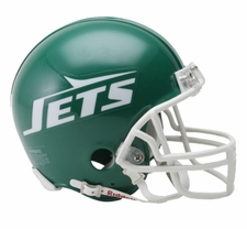 New York Jets 1978-89 Throwback Replica Mini Helmet