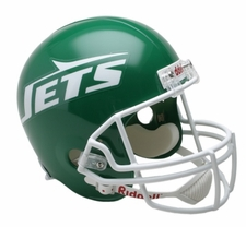 New York Jets 1978-89 Throwback Riddell Deluxe Replica Helmet