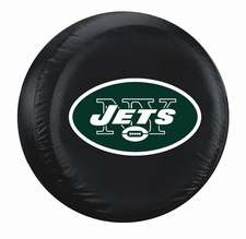 New York Jets Black Standard Spare Tire Cover