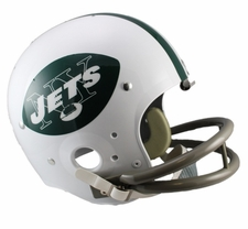 New York Jets Classic TK 1965-77 Throwback Riddell Replica Helmet
