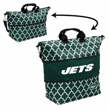 New York Jets  - Expandable Tote (patterned)