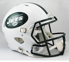 New York Jets Full-Size Deluxe Replica Speed Helmet