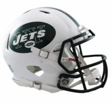 New York Jets Revolution Speed Riddell Authentic Helmet