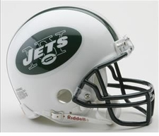 New York Jets Riddell Replica Mini Helmet