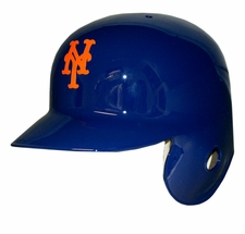 New York Mets Left Flap Rawlings Authentic Batting Helmet
