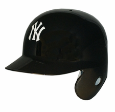 New York Yankees Left Flap Rawlings Authentic Batting Helmet