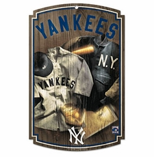 New York Yankees Wood Sign w/ Throwback 1927 Jersey