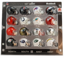 NFL AFC Conference Helmet Pocket Pro Set - 2013