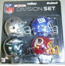 NFL NFC East Division Helmet Pocket Pro Set
