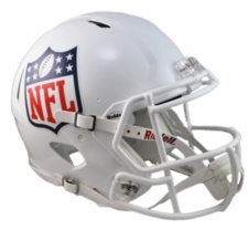 NFL Shield Revolution Speed Riddell Authentic Helmet