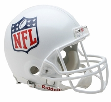 NFL Shield Riddell Full Size Authentic Helmet