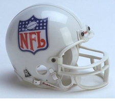 NFL Shield Riddell Replica Mini Helmet
