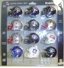 NFL Super Bowl 12-Pack NFL Pocket Pro Set Series Three SBs 33-43