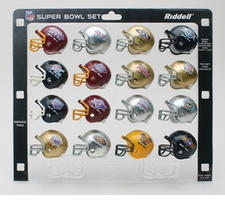 NFL Super Bowl 16-Pack NFL Pocket Pro Set Series Two SBs 17-32