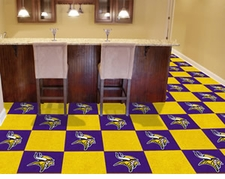 "NFL Team Carpet Tiles - 18""x18"" ($179)"