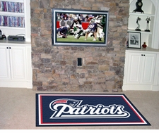 NFL Team Floor Rugs - 5' x 8' ($199.99)