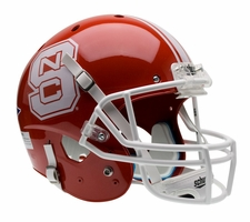 North Carolina State Red Schutt XP Full Size Replica Helmet