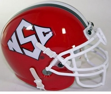 North Carolina State Wolfpack 1999 Schutt Throwback Mini Helmet