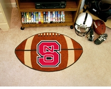 "North Carolina State Wolfpack 22""x35"" Football Floor Mat"