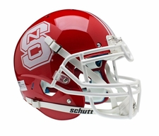 North Carolina State Wolfpack Red Schutt XP Authentic Helmet