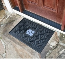 North Carolina Tar Heels 19x30 Medallion Door Mat