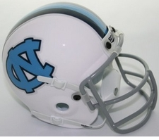 North Carolina Tar Heels 1963-66 Schutt Throwback Mini Helmet