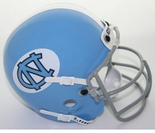 North Carolina Tar Heels 1967-77 Schutt Throwback Mini Helmet