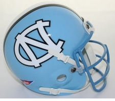 North Carolina Tar Heels 1978 Schutt Throwback Mini Helmet