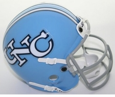 North Carolina Tar Heels 1979 Schutt Throwback Mini Helmet