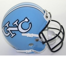 North Carolina Tar Heels 1986-87 Schutt Throwback Mini Helmet