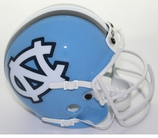 North Carolina Tar Heels 1995-2000 Schutt Throwback Mini Helmet