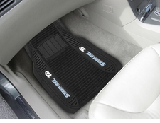 North Carolina Tar Heels 2-Piece Deluxe Car Mats