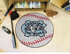 "North Carolina Tar Heels 27"" Baseball Floor Mat"