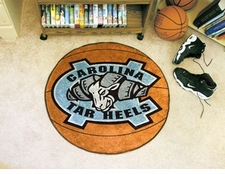 "North Carolina Tar Heels 27"" Basketball Floor Mat"