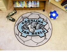 "North Carolina Tar Heels 27"" Soccer Ball Floor Mat"