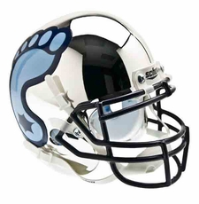 North Carolina Tar Heels Chrome Schutt Authentic Mini Helmet