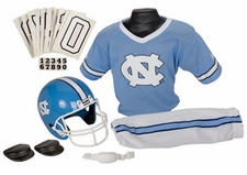 North Carolina Tar Heels Deluxe Youth / Kids Football Helmet Uniform Set