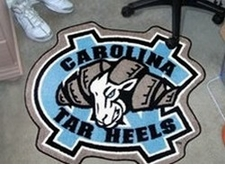 North Carolina Tar Heels Mascot Mat