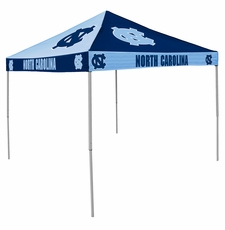 North Carolina Tar Heels Navy / Blue Checkerboard Logo Canopy Tailgate Tent