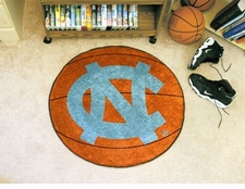 "North Carolina Tar Heels ""NC"" 27"" Basketball Floor Mat"