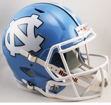 North Carolina Tar Heels Riddell Speed Deluxe Replica Helmet