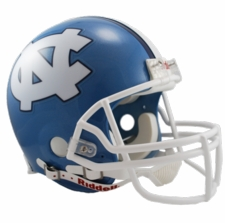 North Carolina Tar Heels Riddell Pro Line Authentic Helmet